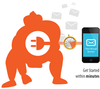 clickSUMO SMS Free Setup and Easy Integration